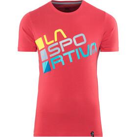 La Sportiva Square T-shirt Herre cardinal red
